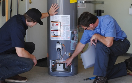 water heater service lake forest